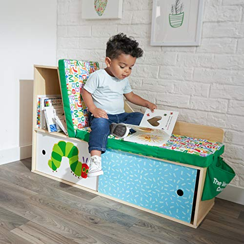 KidKraft World of Eric Carle Caterpillar Corner Bookcase
