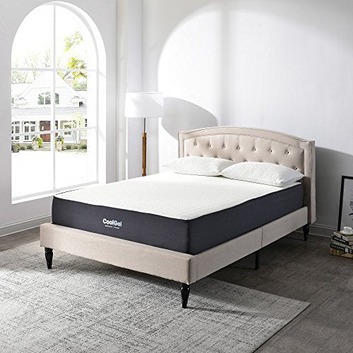 Classic Brands Cool Gel Ventilated Gel Memory Foam 10.5-inch Mattress, Queen