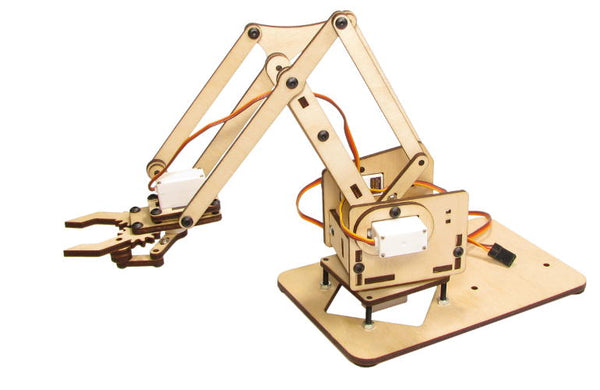 meArm Mini Factory Robotic Arm Deluxe Kit