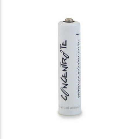 Concentrate Rechargeable AAA Battery