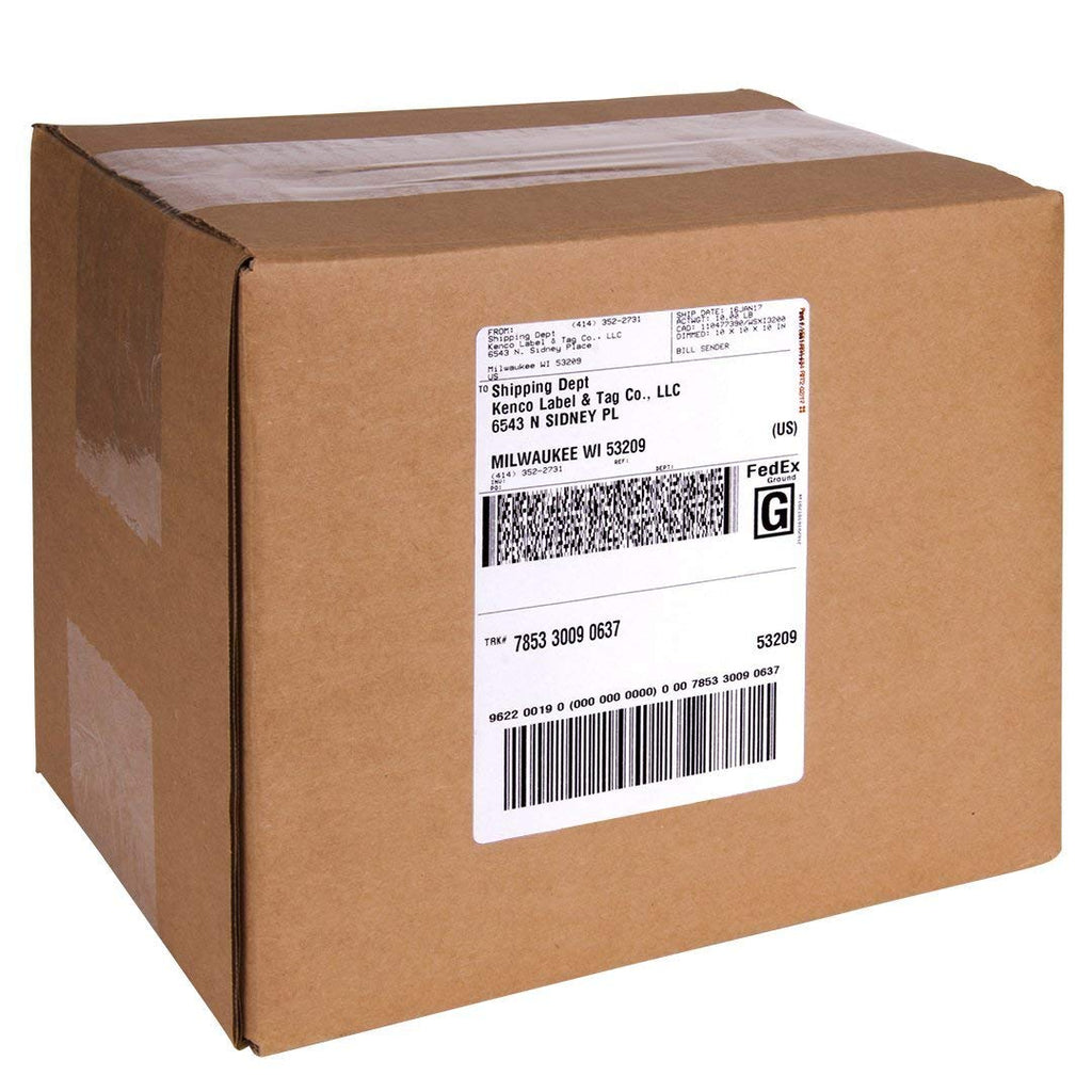 42da0905a9b6b 250 PayPal / eBay Labels with Paper Receipts for Laser /Ink Jet Shipping!  Built in Tear Off Receipts! Blank Labels Brand.