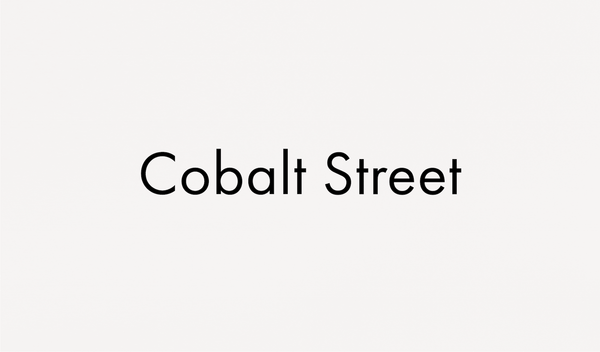 Name Change: Cobalt Street