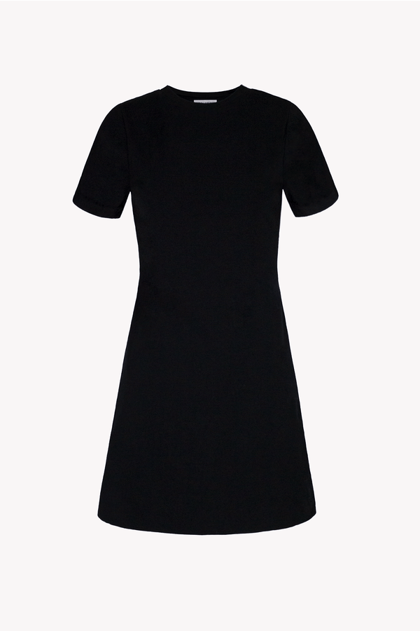 Black BCI Cotton T-shirt Mini Dress
