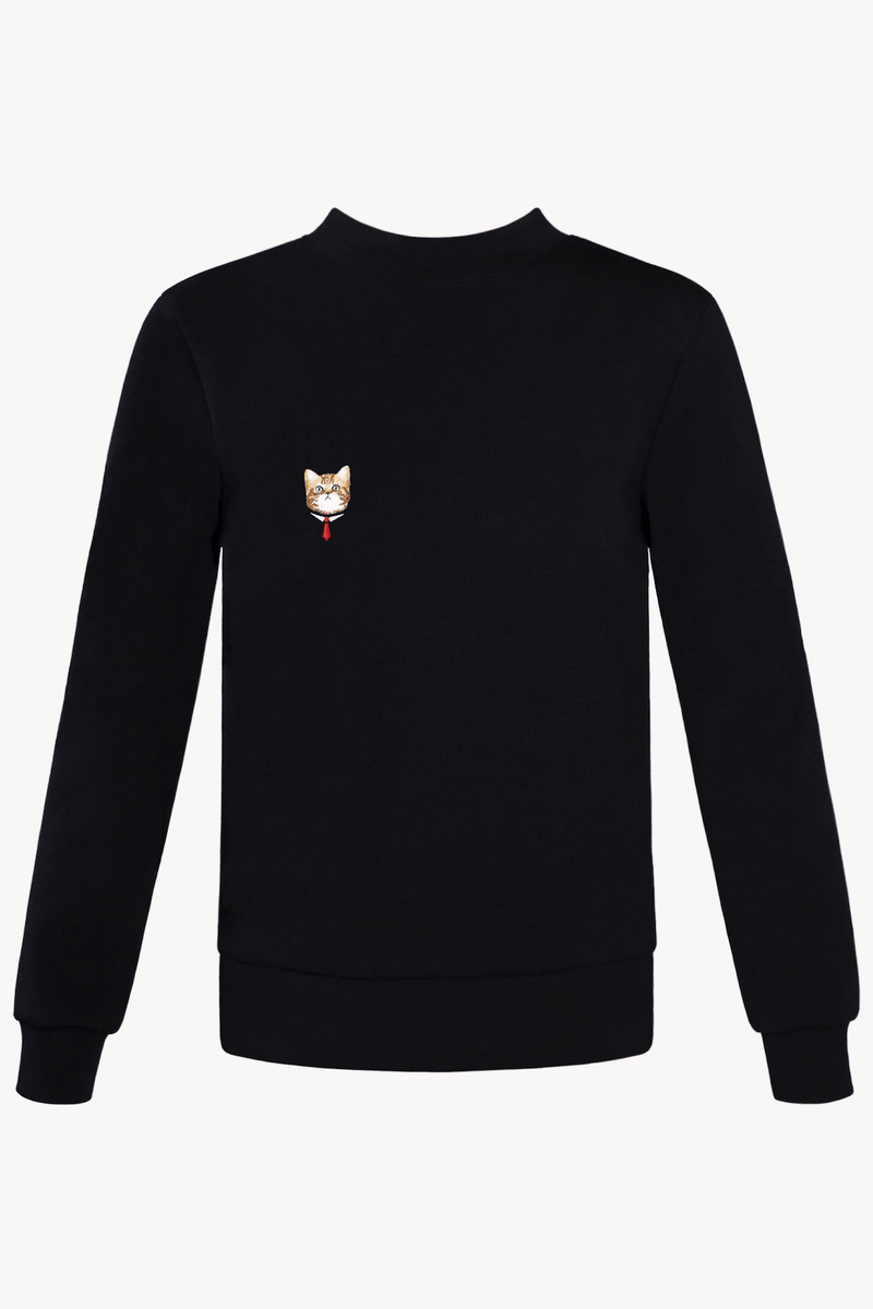 Business Cat GOTS Certified Organic Cotton Sweatshirt