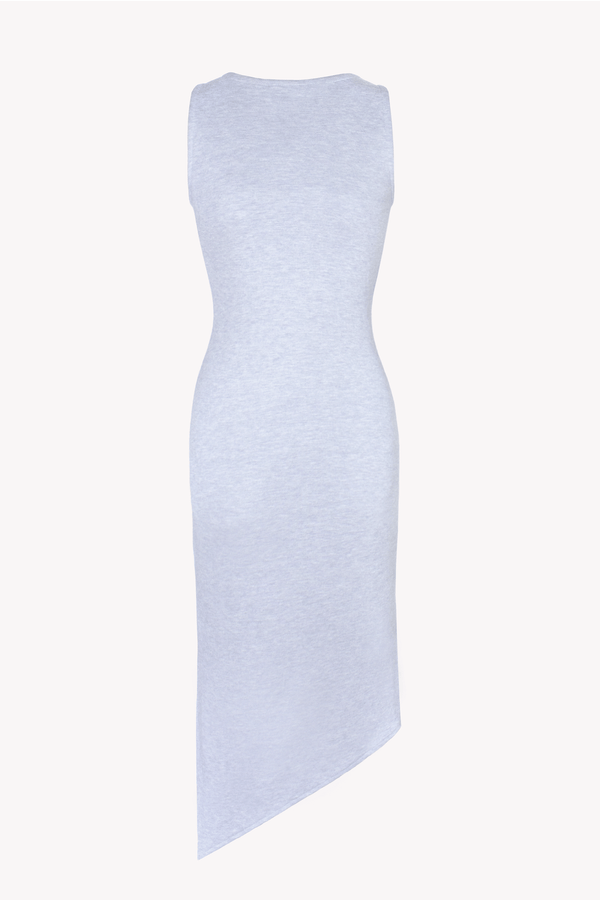 Gray Midi Bodycon Dress