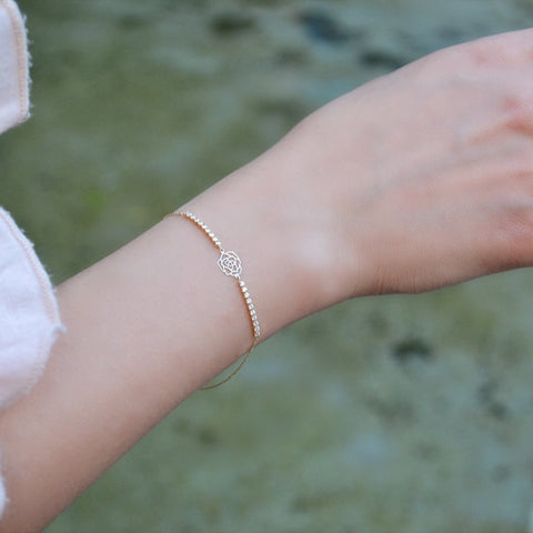 Rouge Yellow Gold Bracelet