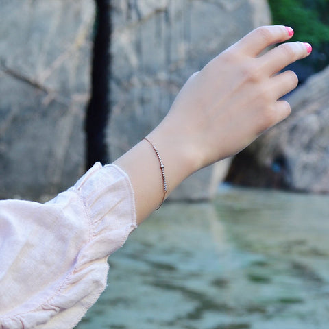 Rose Gold Stud Bracelet