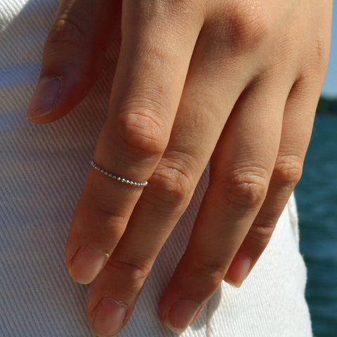 Rollit White Gold Ring - by Claurete Jewelry at Claurete.com