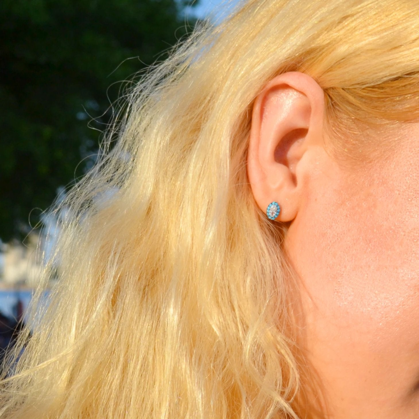 The Mes Me Rize Turquoise Earrings