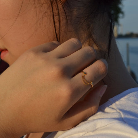 Luie yellow Gold Ring II