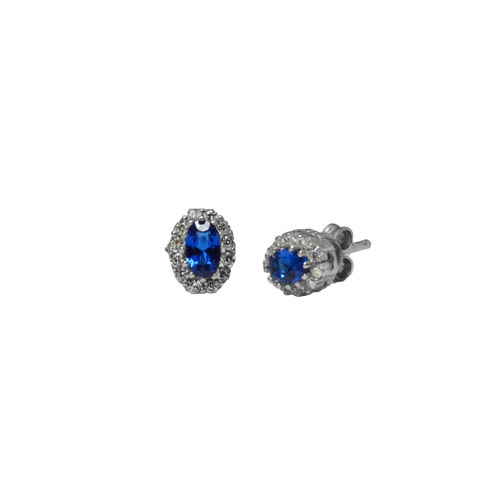 The Mes Me Rize Sapphire Earrings