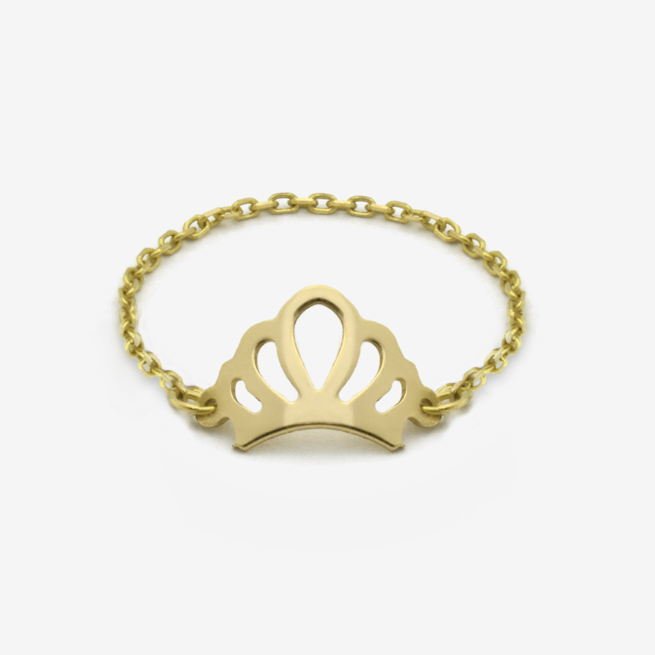 Tiara Catena Gold Ring - by Claurete Jewelry at Claurete.com
