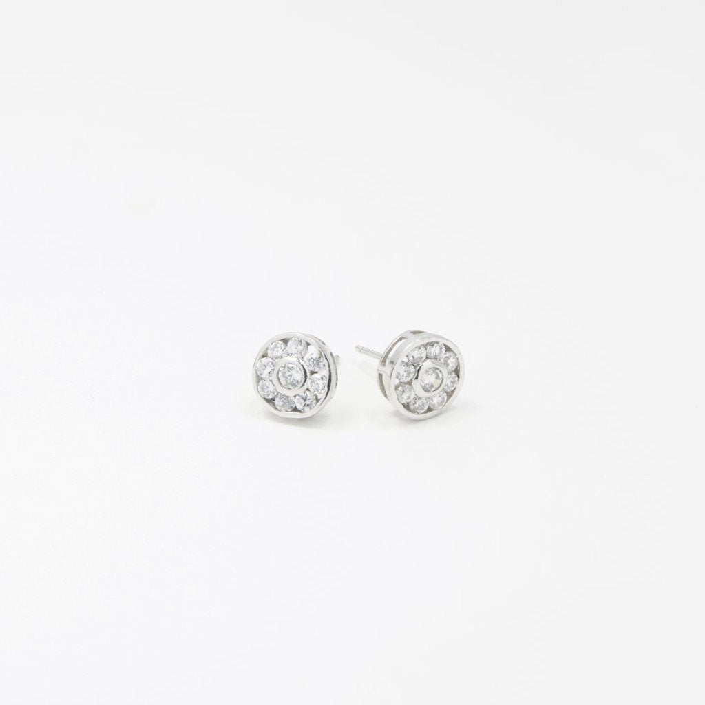 Dotted 925 Sterling Silver Earrings - by Claurete Jewelry at Claurete.com