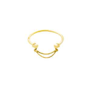 Luie Simple yellow Gold Ring