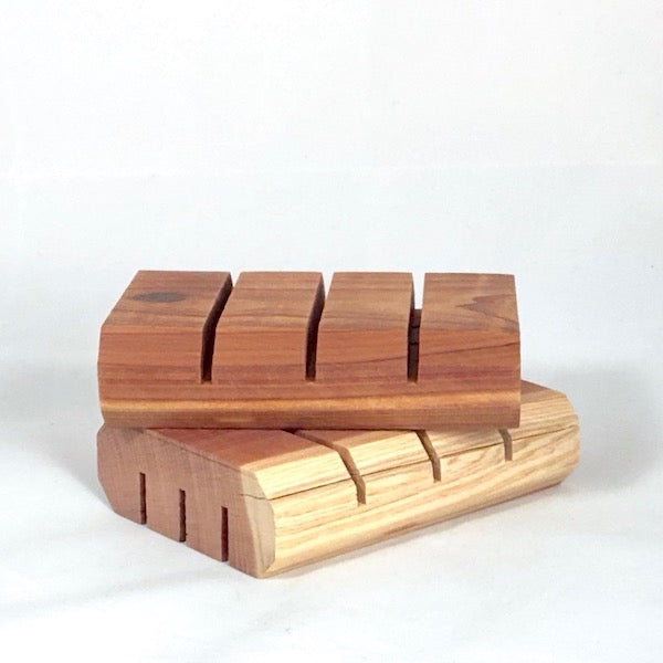 Soap Dish CEDAR BLOCK