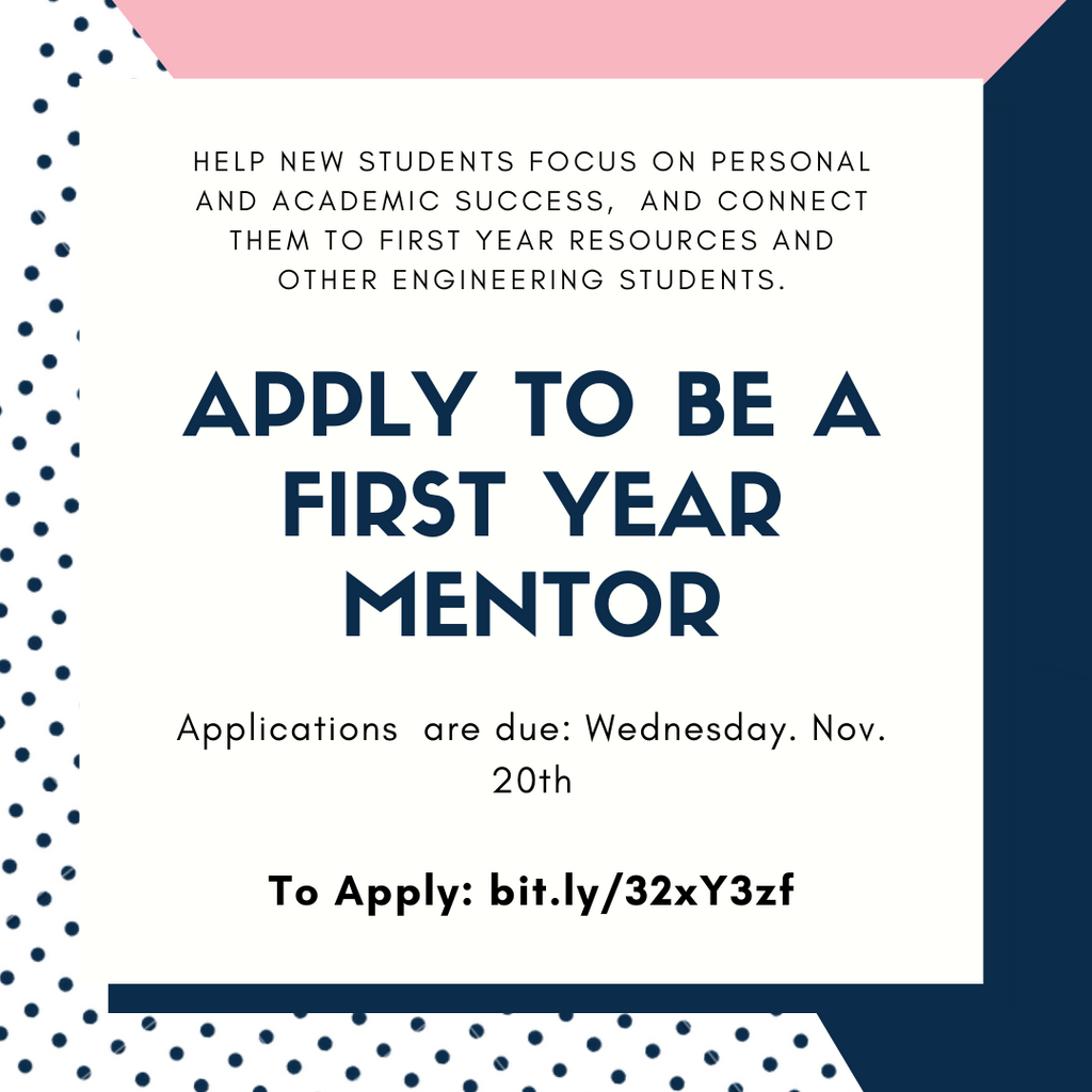Apply To Be A First Year Mentor