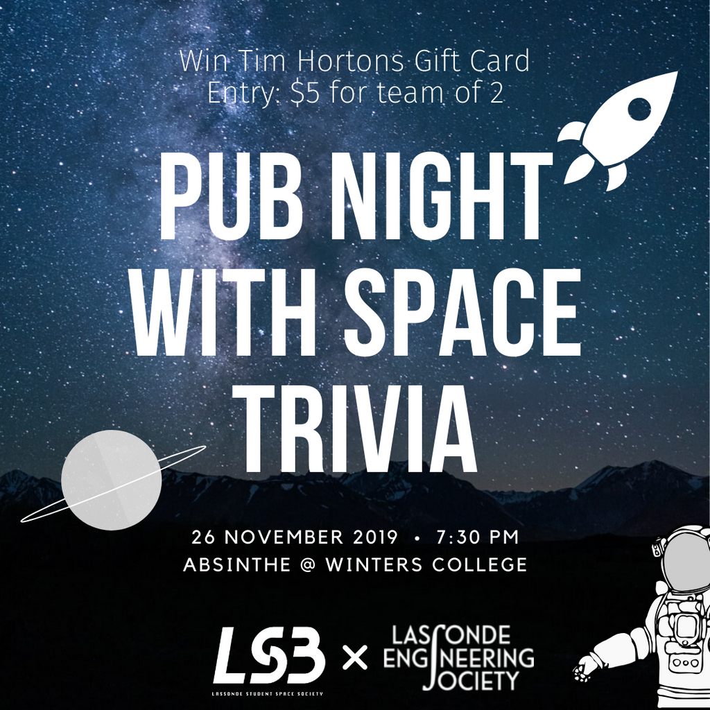 Pub Night With Space Trivia