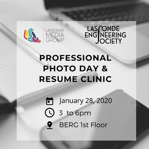 Professional Photo Day & Resume Clinic