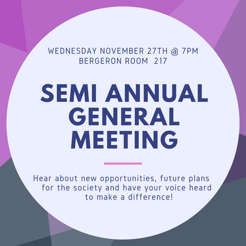 Lassonde Engineering Society Semi Annual General Meeting