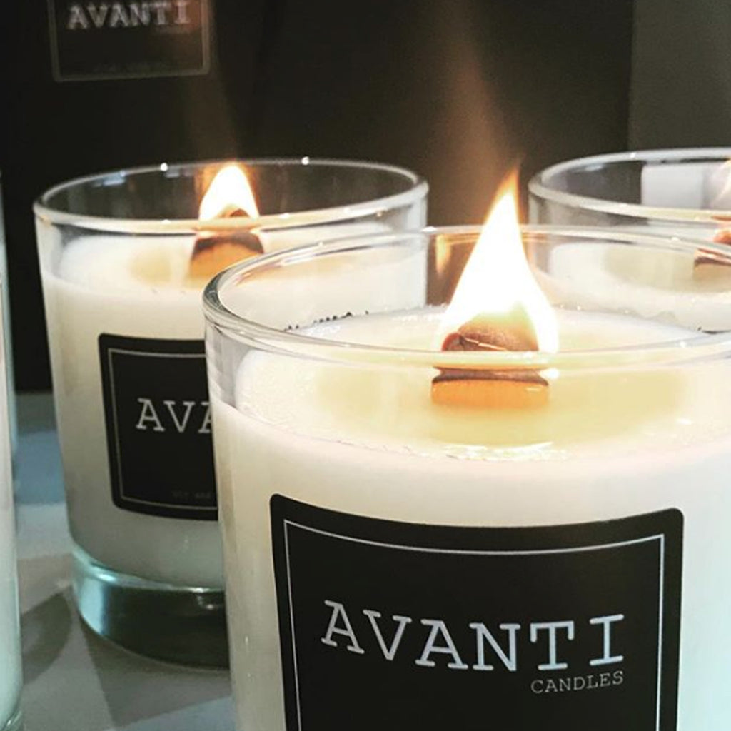 Scented candles by Avanti