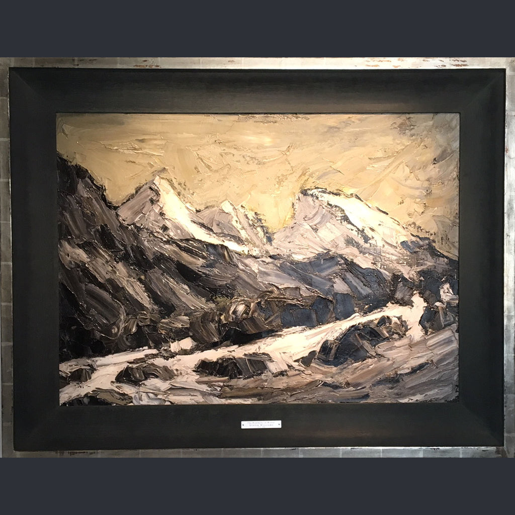 The Moelwyns in Winter - Kyffin Williams KBE, RA