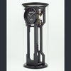 Osberg and Martin Skeleton Clock - Black