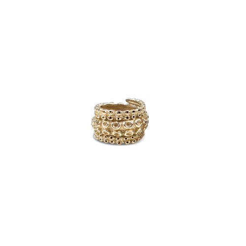 Ocean Republic | Octopus ring large gold