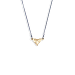 Ocean Republic | Small shark tooth necklace gold