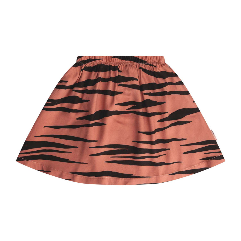 Maed for Mini | Pink tiger skirt