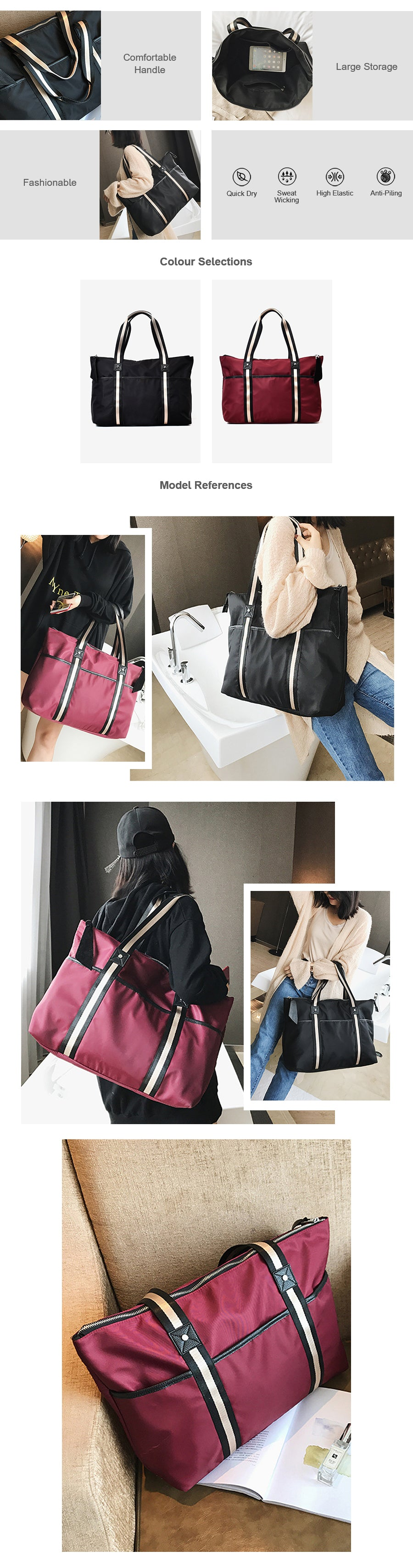Casual Shoulder Bags