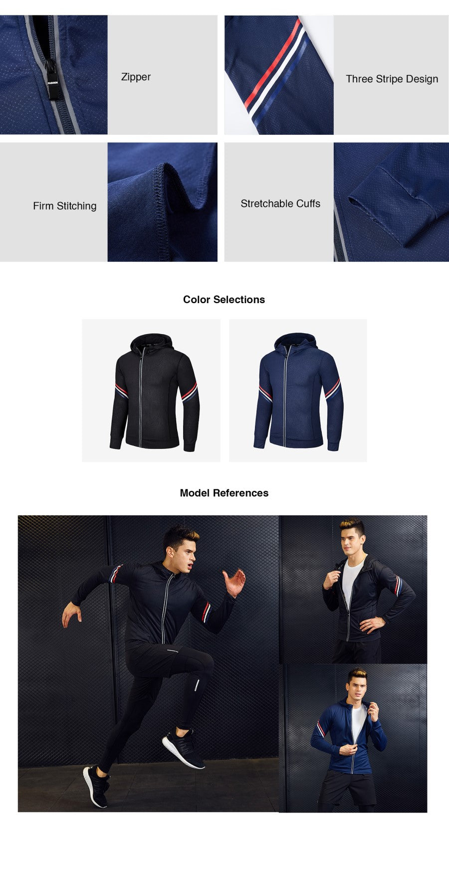 Lightweight Quick Dry Sports Jacket