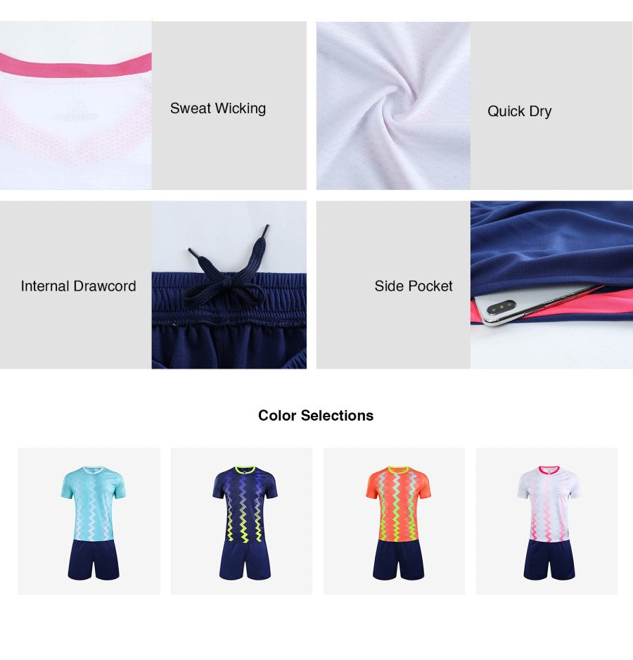 Sublimation Football Jersey Set