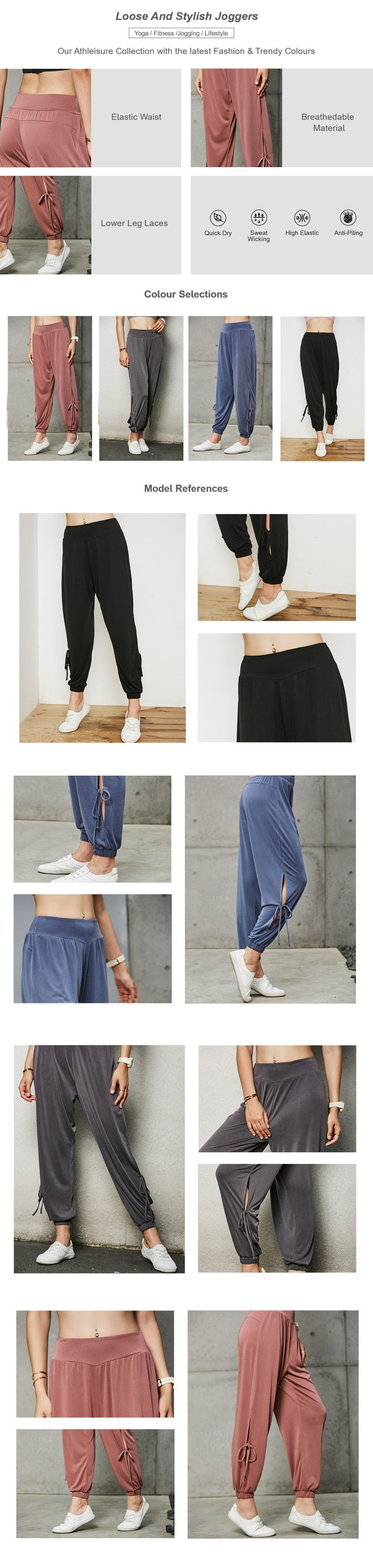 Loose And Stylish Joggers