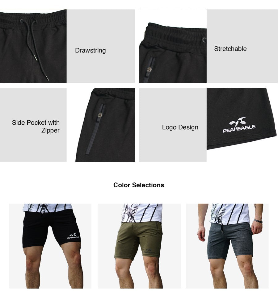 Shorts with Zip Pockets