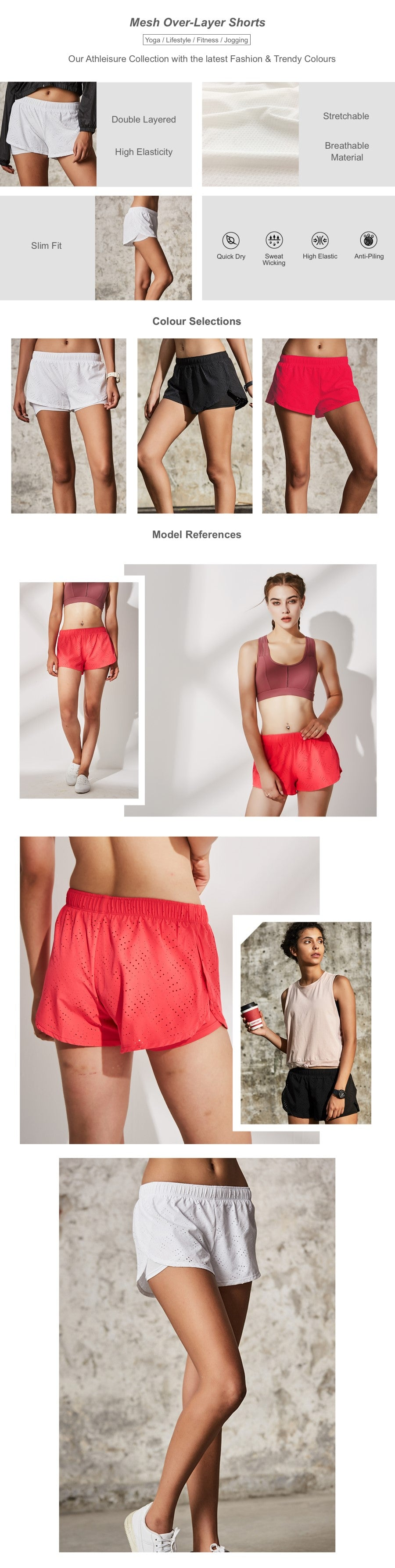 Mesh Over-Layer Shorts
