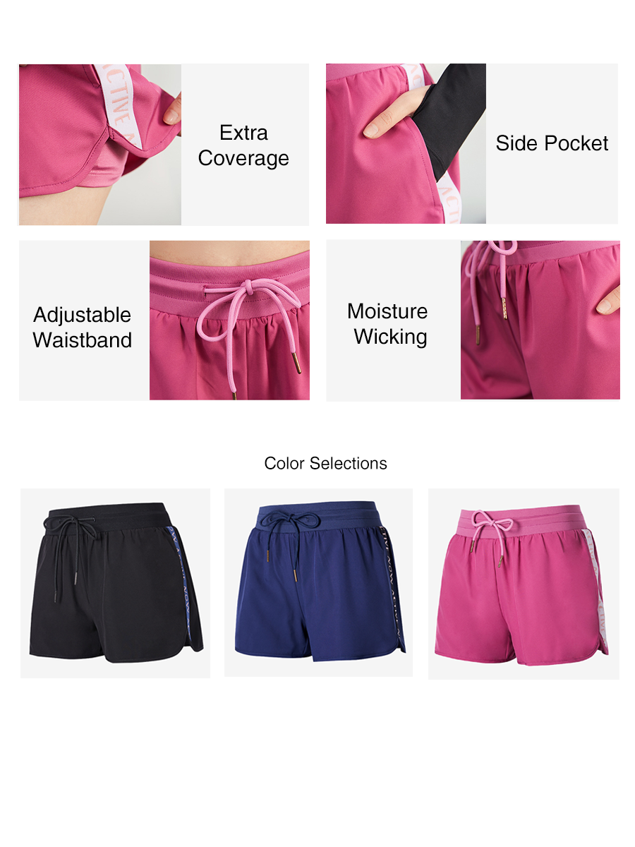 Active Now High Waisted Sports Shorts