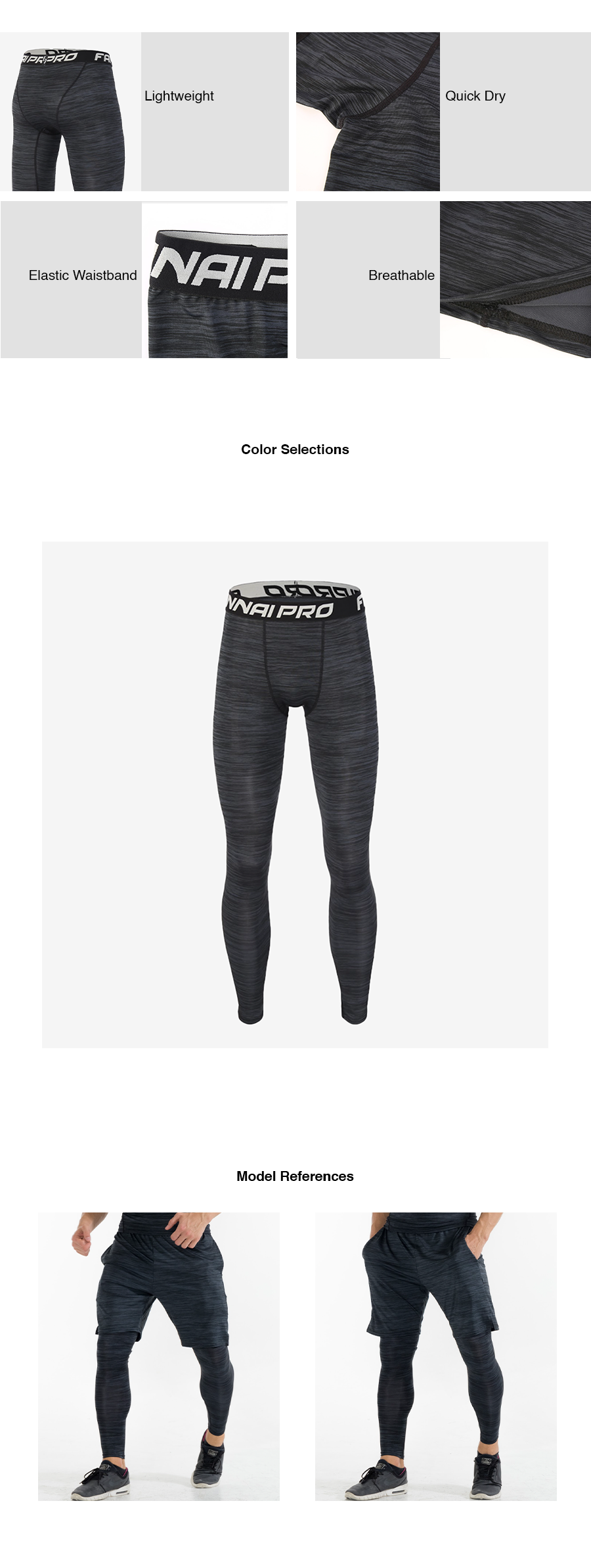 Quick Dry Compression Tights