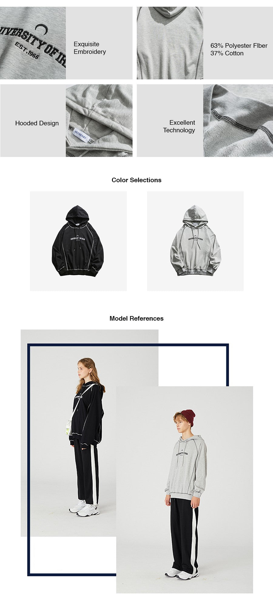 Outseams Oversize Hoodies