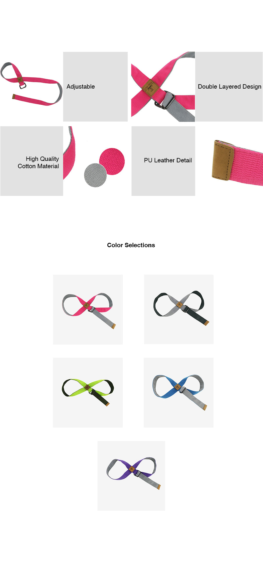 Infinity Loop Stretch Bands