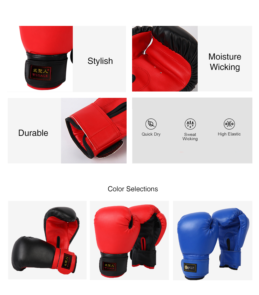 RLY Colour Contrast Boxing Gloves