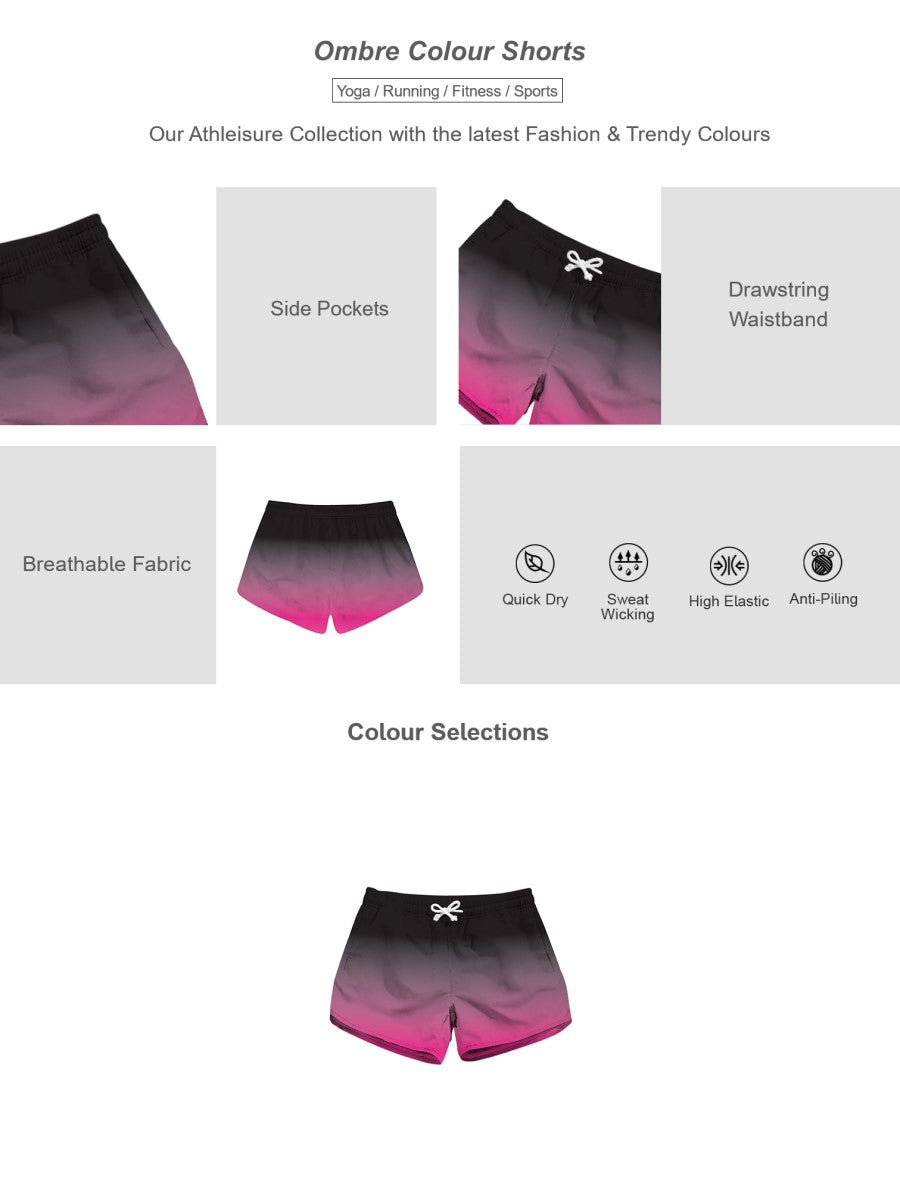 Ombre Colour Shorts