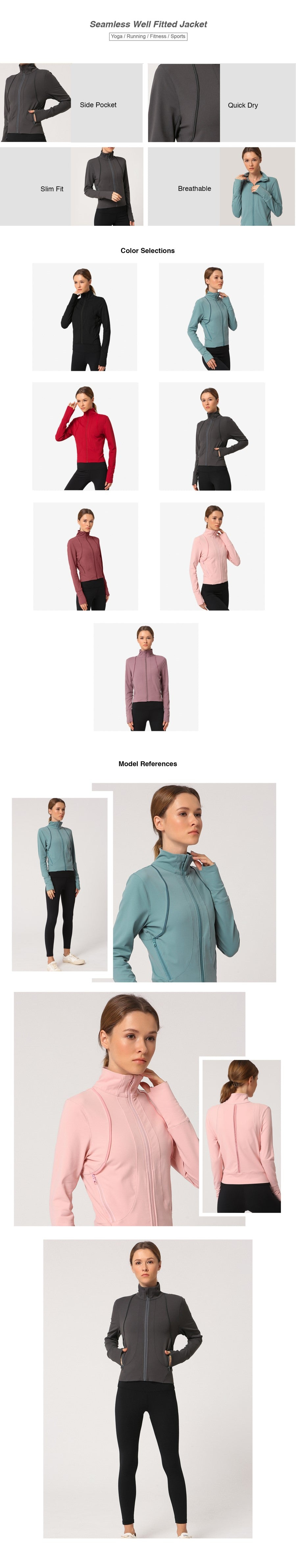 Seamless Well Fitted Jacket