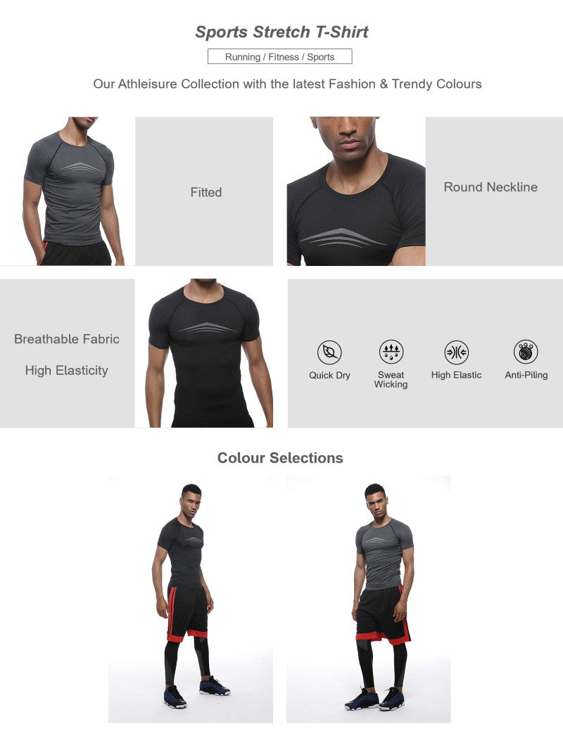 Sports Stretch T-Shirt