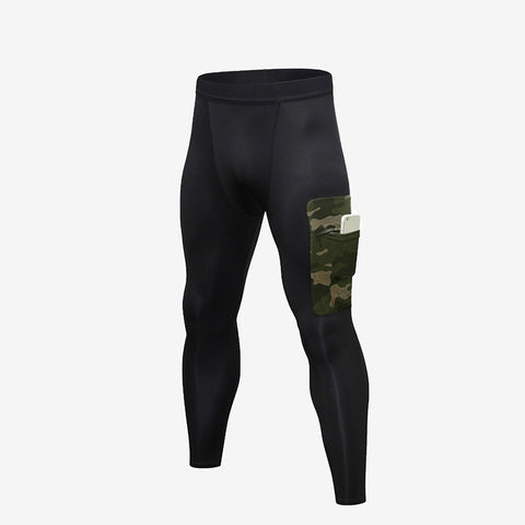 Camo Patch Pocket Tights