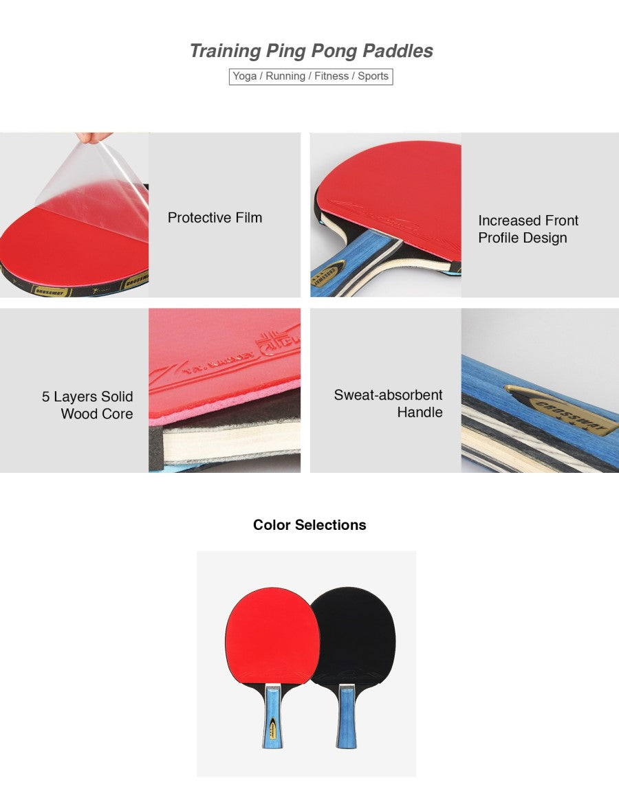 Training Ping Pong Paddles