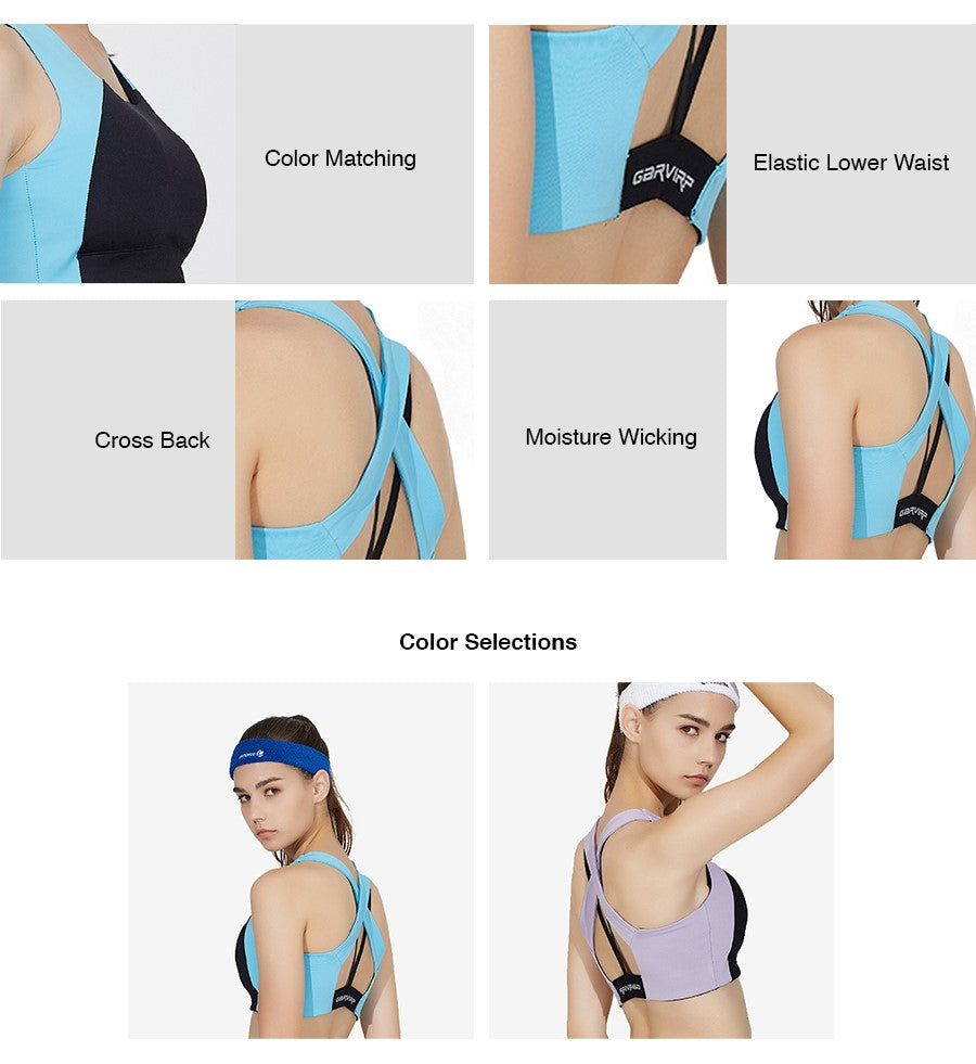 Mid Crossback Sports Bra