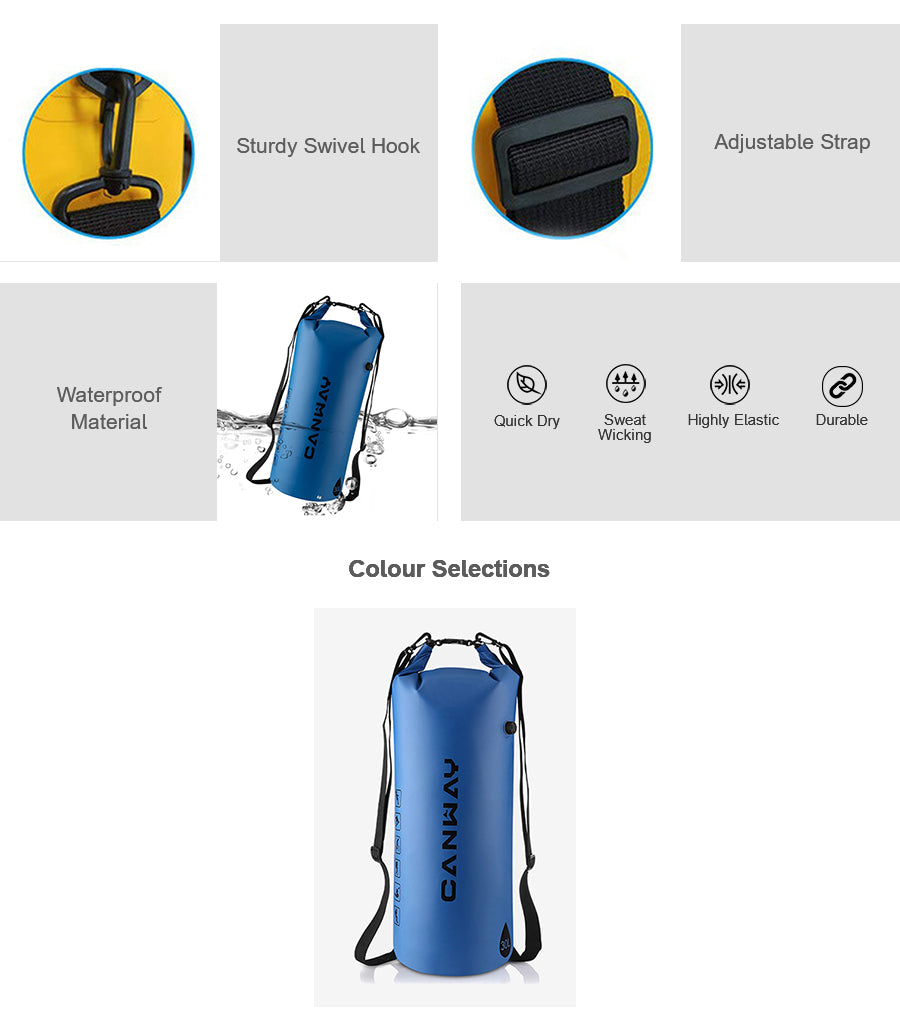 PVC 30L Waterproof Backpack