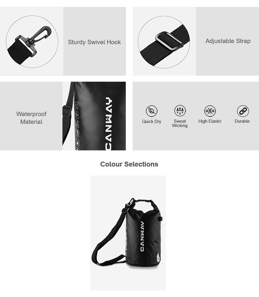 PVC 10L Waterproof Backpack