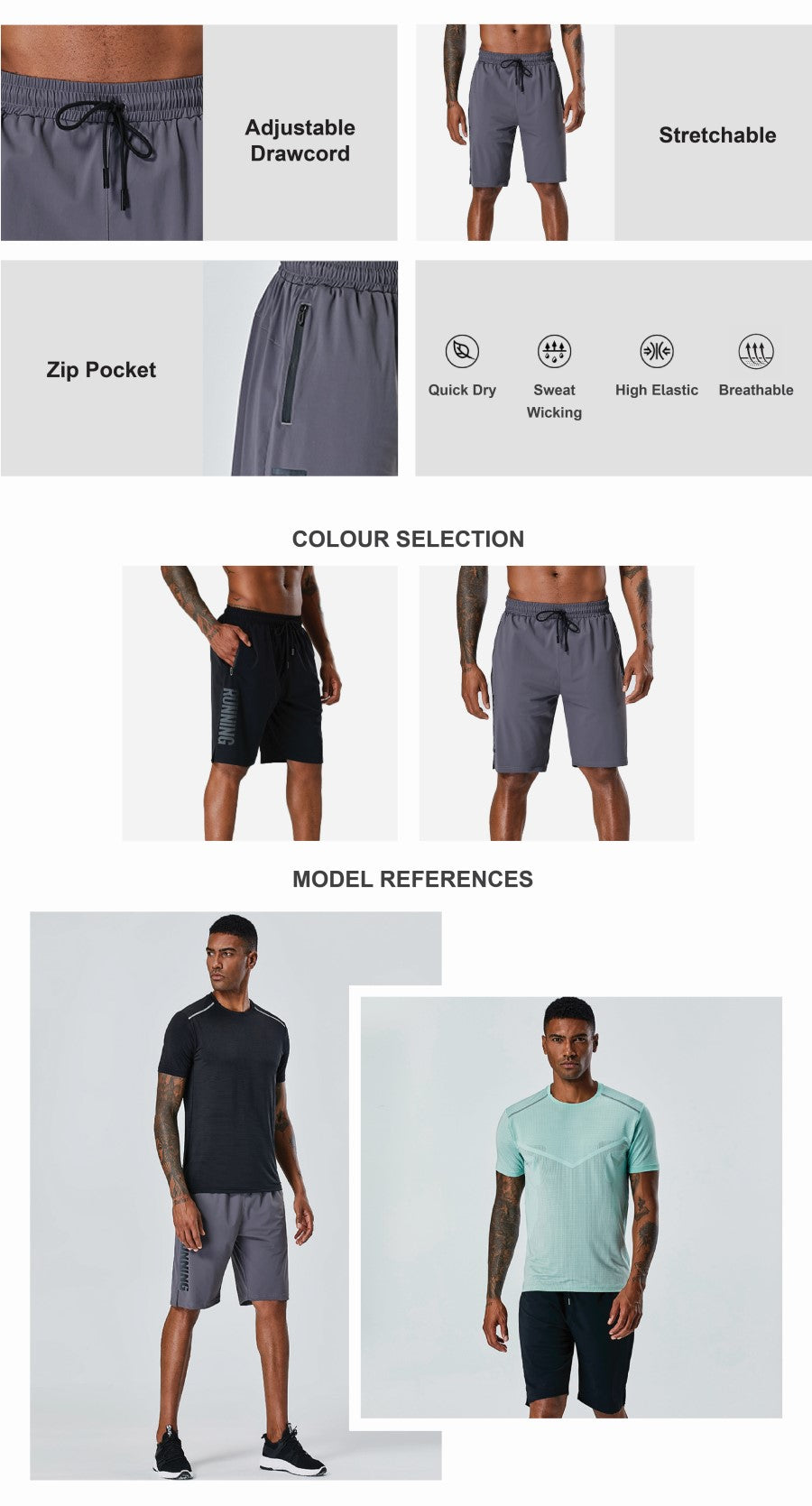 Cool Fit Running Shorts