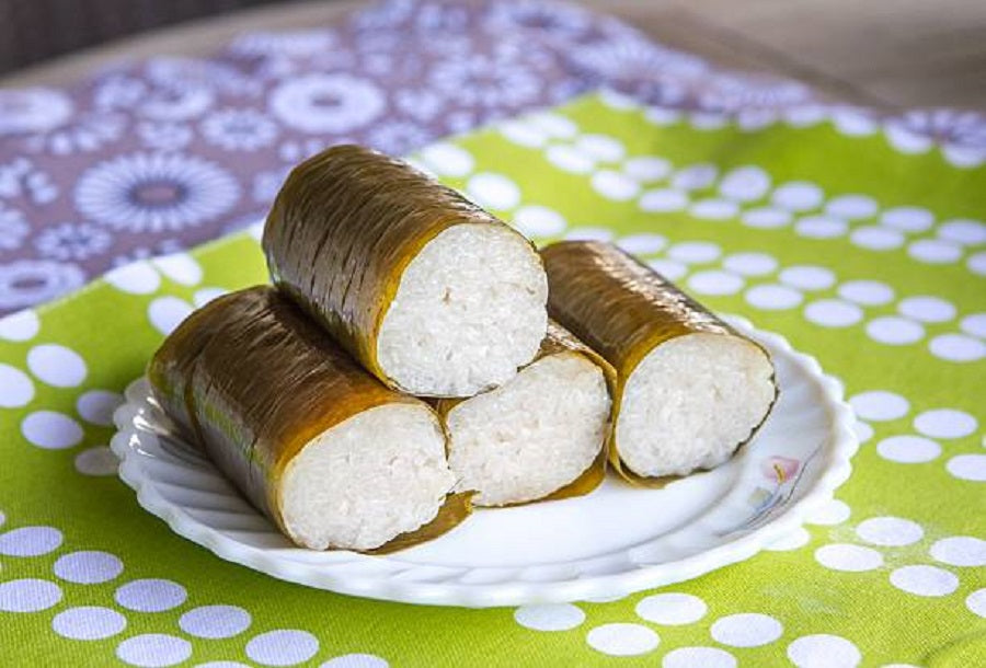 Lemang contains fat and is made of coconut milk.